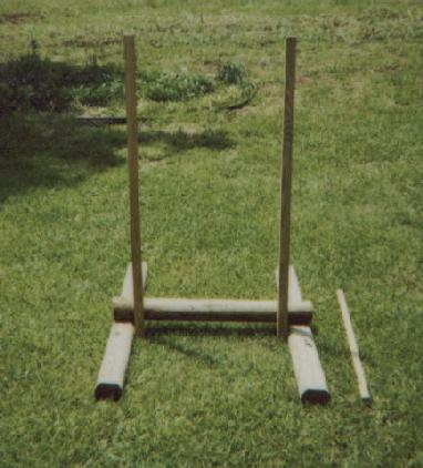 Homemade Target Stand