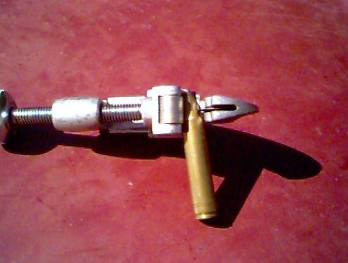Homemade Loading Block and Bullet Starter